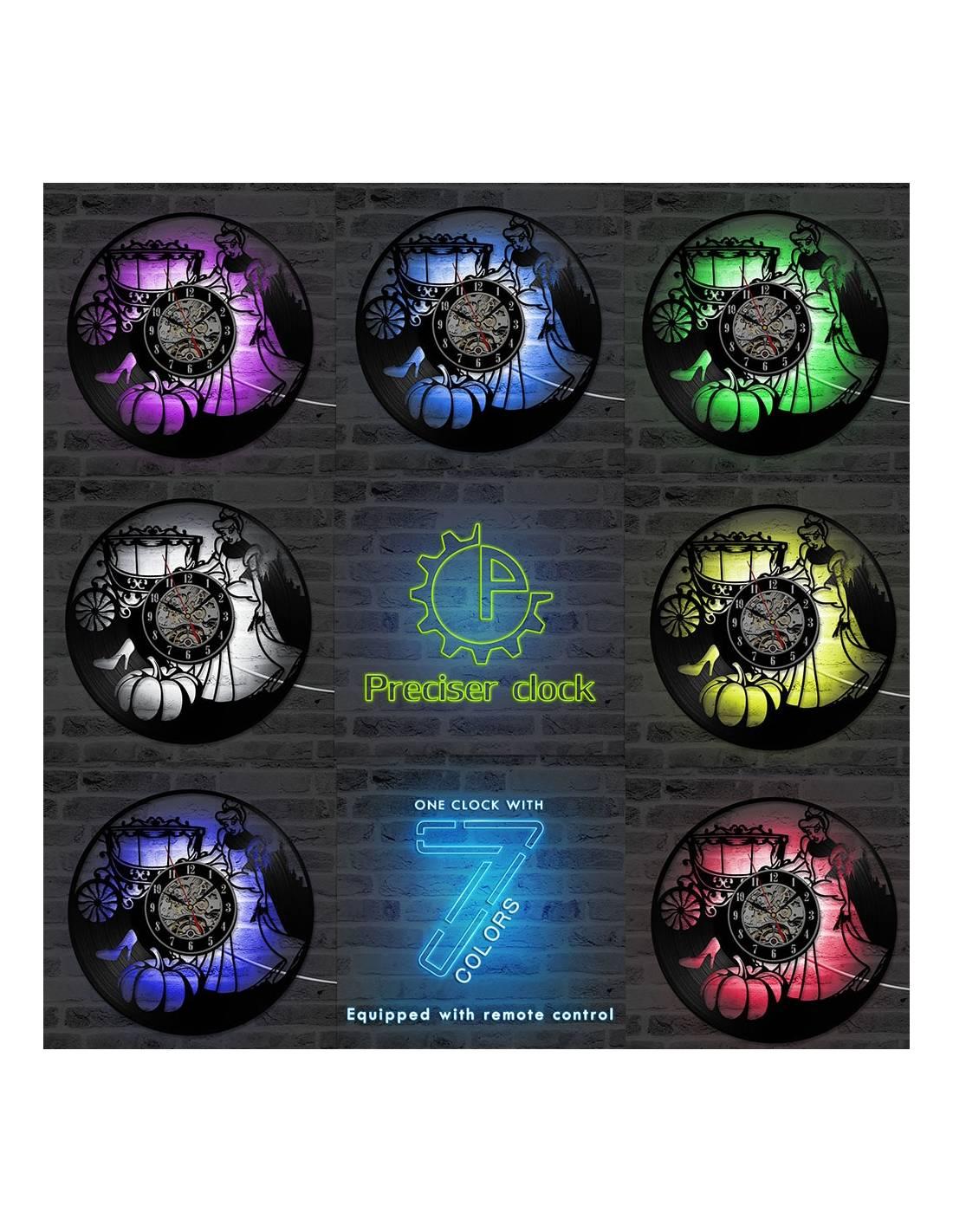 Cendrillon 02 Horloge Disque Vinyle D 233 Co