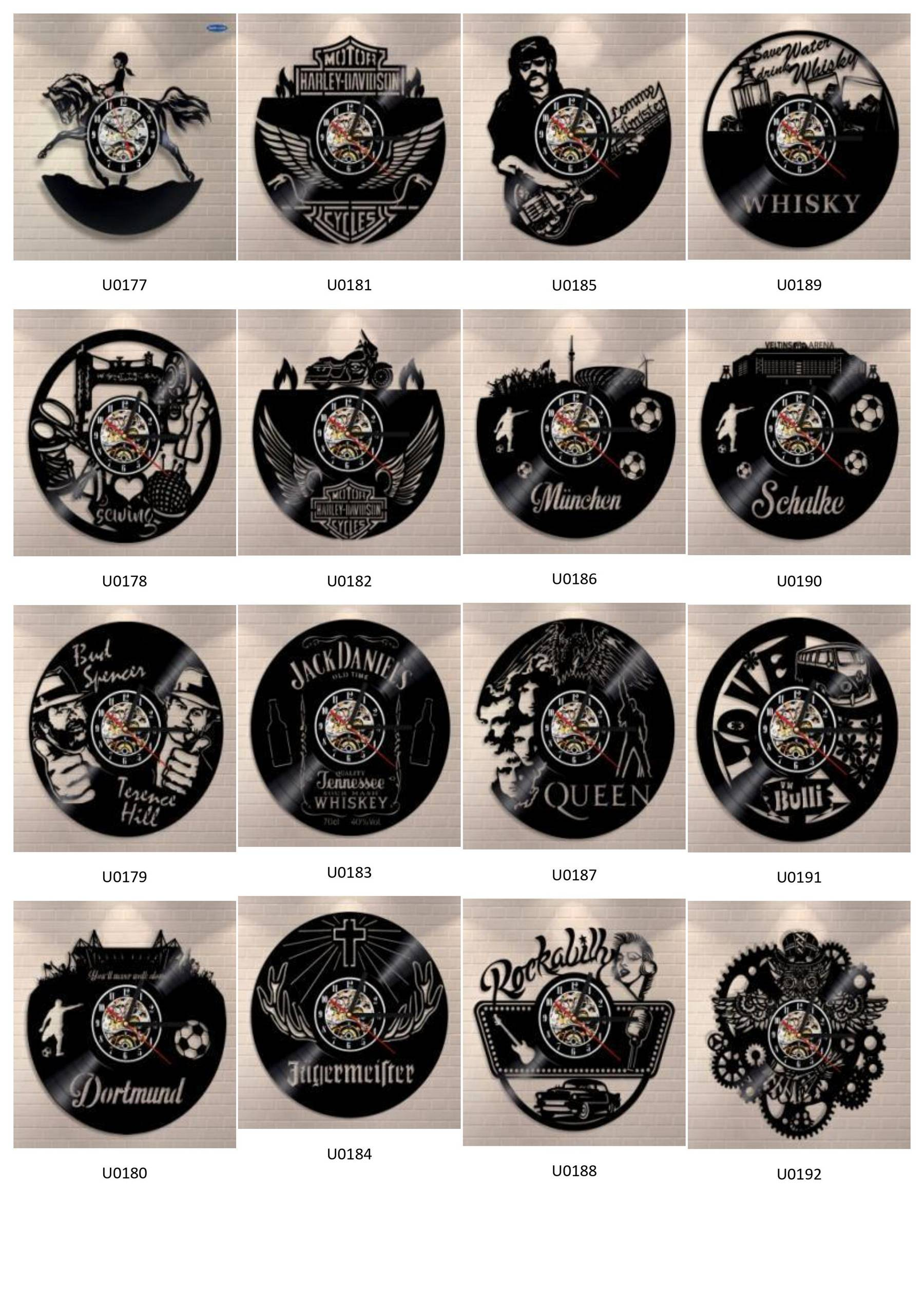HelloKookoo - Catalogue horloge vinyle LED
