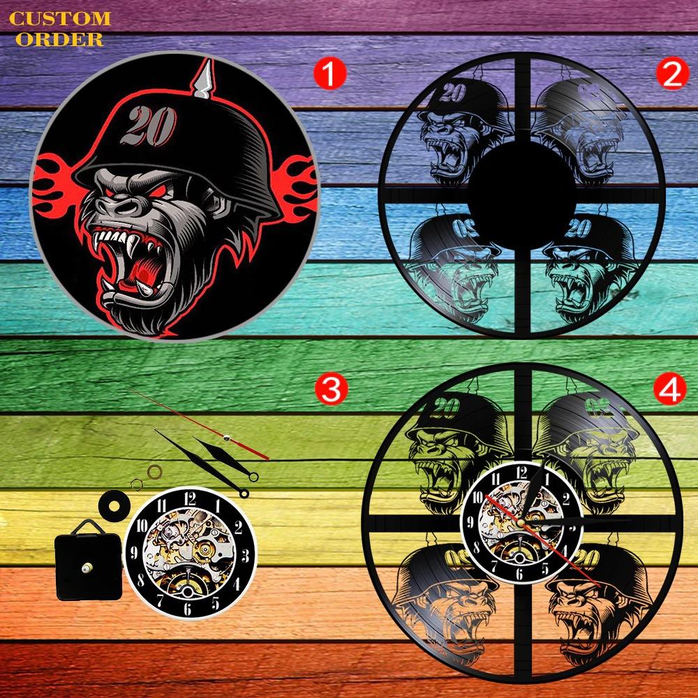 custom vinyl clock